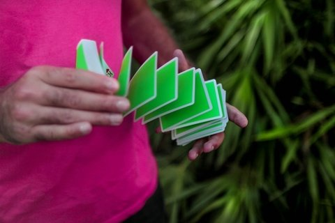 Baraja Noc Sport Green Playing Cards Verde
