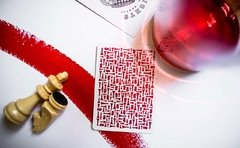 Baraja Red Knights Playing Cards Ramsay Madison de Ellusionist