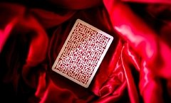 Baraja Red Knights Playing Cards Ramsay Madison de Ellusionist - Akhitoy