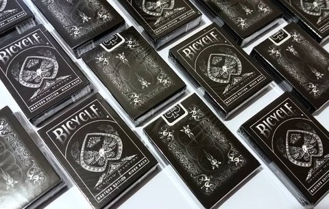 Baraja Bicycle Shadow Masters Playing Cards Ellusionist