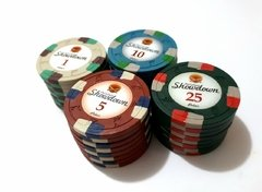 "Rollo 25 fichas de Poker Showdown Denominación ""$25"" en internet"