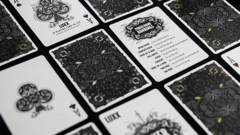 LUXX Playing Cards: Shadow Edition Silver - comprar en línea