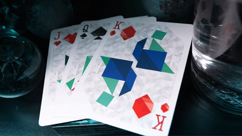 Baraja Tangram Playing Cards