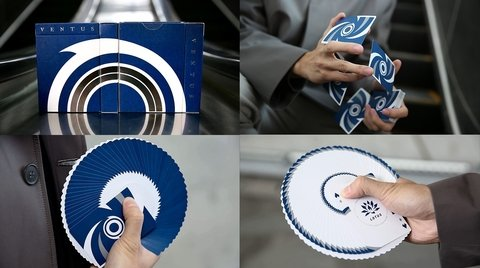 Baraja Ventus Playing Cards de Lotusinhand, Cardistry