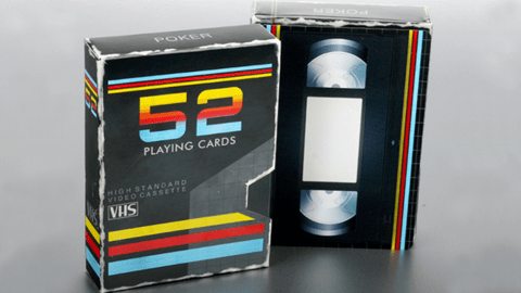 Baraja VHS Playing Cards