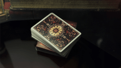 Baraja Victorian Room Playing Cards The Blue Crown - Akhitoy