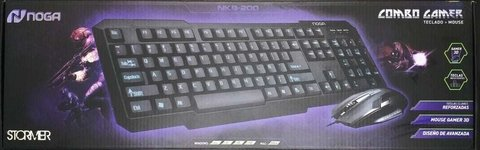 KIT MOUSE - TECLADO USB - NOGA NKB-200