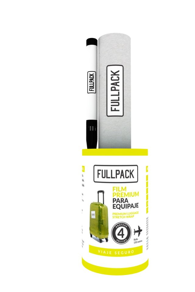 FULLPACK Valijas Fun Yellow