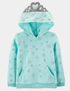 Blusa de frio fleece - frozen/ flocos de neve - carter's