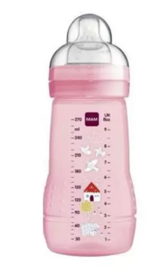 MAMADEIRA  Easy Active 270ml - Rosa - MAM