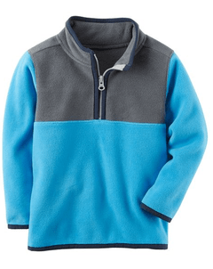 Pulôver Fleece Azul -  CARTER'S