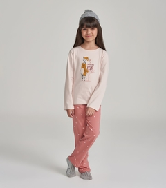 "Pijama manga longa ""Love you, llots"" - 67468"