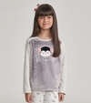 Pijama Manga Longa plush PINGUINS - 67461