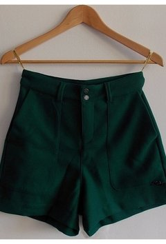 Shorts de alfaiataria verde - BLOOM ME