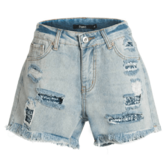 shorts jeans forro frases