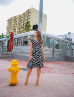 VESTIDO TUBO VIES MIAMI ref 30327 - Joy Fashion