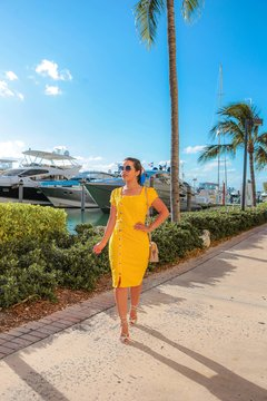 VESTIDO LAISE YELLOW MIAMI ref 30393 na internet