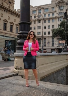 BLAZER NEON ROSA ref 11270 - Joy Fashion
