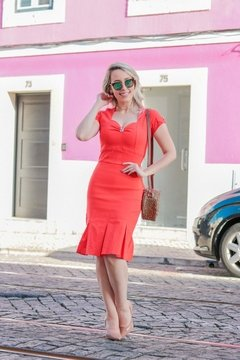 VESTIDO COLOR LISBOA ref 30091 - Joy Fashion