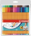 Stabilo Point 88 Fineliner set de 40 colores