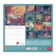 Calendario de pared 2021  Peter Wendy - 30x29 cm en internet