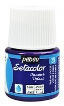 Setacolor Opaque Pebeo -  29 Parma Violet 45 ml. en internet