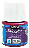 Setacolor Pebeo - Shimmer Opaque  (Tornasolado)- 65 Purple 45 ml. en internet