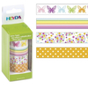 Set Deco Tape Heyda  4 un. Primavera