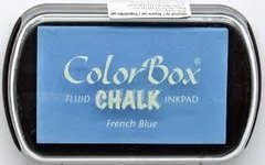 Tinta para timbres ColorBox French Blue
