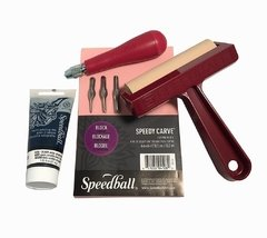 KIT STARTER PARA XILOGRAFÍA SPEEDBALL SUPER VALUE - comprar online