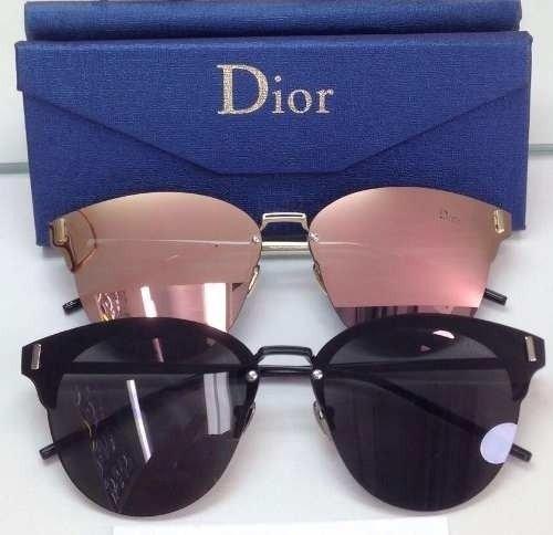 Óculos Dior Rosa Espelhado Ou Preto - Madame Luxo 9a7ba4d3ff