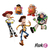 Set toppers Toy story - comprar online