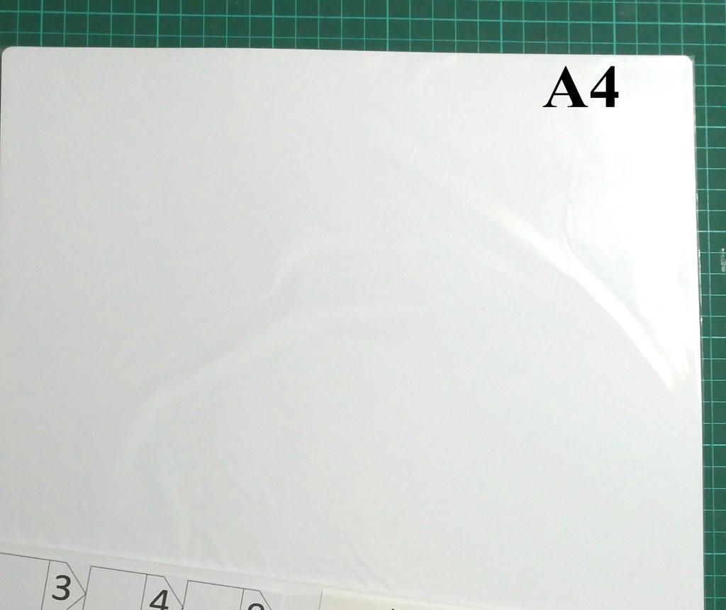 HOJAS EN BLANCO x 8 unidades tamaño A4