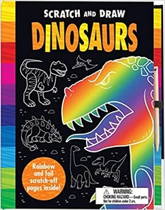 Scratch & Draw Dinosaurs