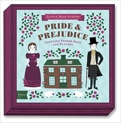 Pride & Prejudice: A babyLit counting primer board book and playset