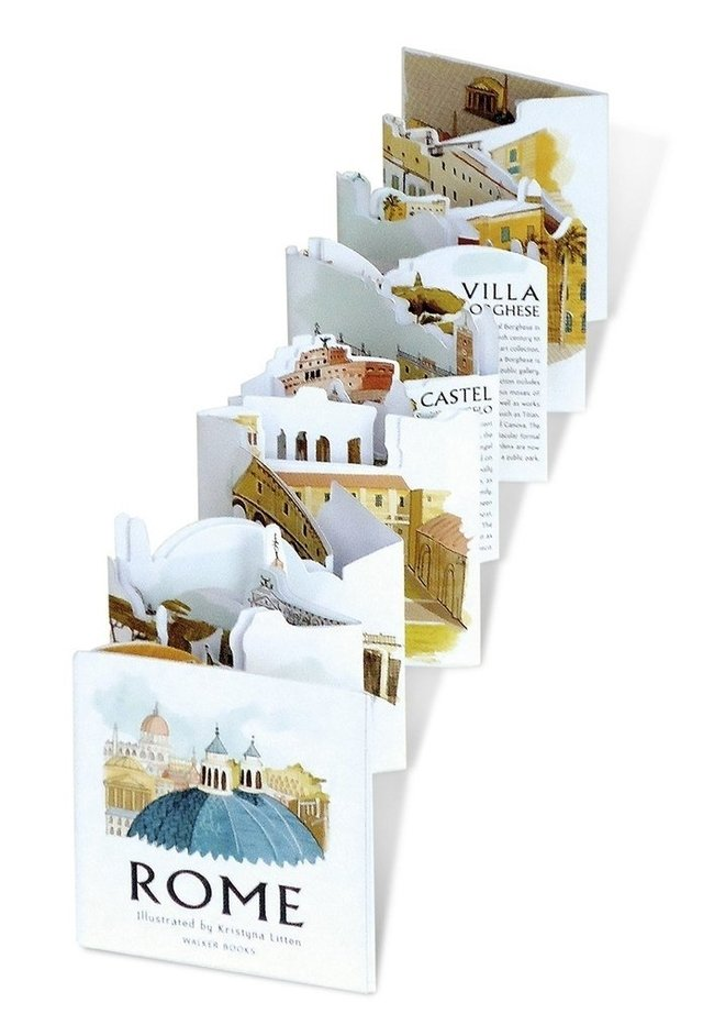 Rome: Panorama Pops : A Three-Dimensional Expanding City Skyline - comprar online