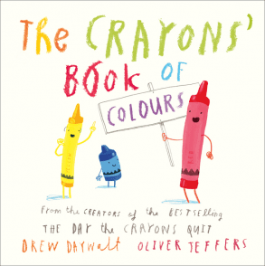 The crayons´book of colours