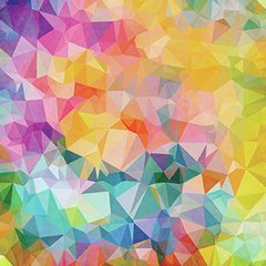 "Papel para origami ""Color party"" ( Tamaño 10x10 cm - pack x 20 papeles)"