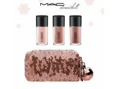 Mac kit Snow ball Pink - pigment e glitter