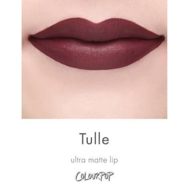 Batom colourpop ULTRA MATTE - TULLE