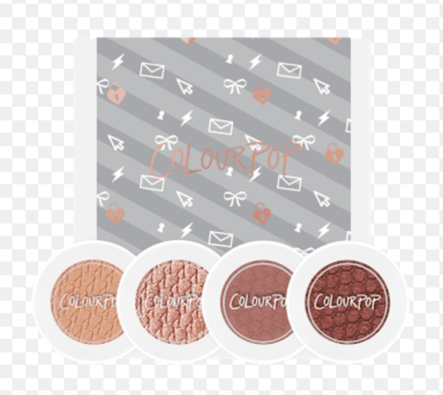 Kit Colourpop 4 sombras - LOVELINE