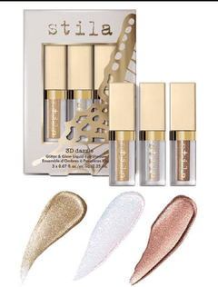 STILA - KIT 3D DAZZLE - GOLDEN GIRL - PERLINA - KITTEN KARMA na internet