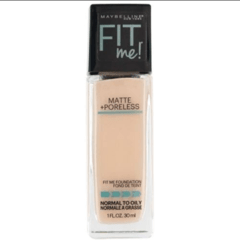 MAYBELLINE - BASE MATTE +PORELESS - 112 NATURAL IVORY