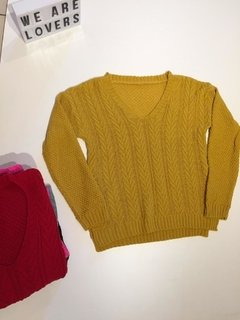Sweater Trini Escote V