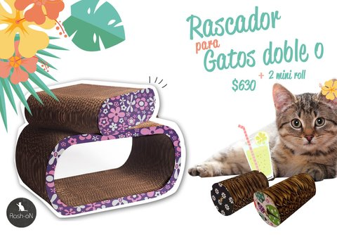 Promo Rascador Doble O + 2 mini roll de regalo