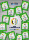 Pack x 20 sobres de figuritas COPA AMERICA PREVIEW