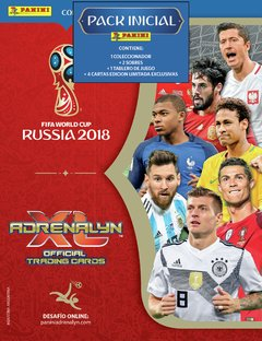 PACK INICIAL Cartas ADRENALYN FIFA World Cup Russia 2018 - comprar online