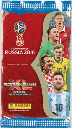 PACK INICIAL Cartas ADRENALYN FIFA World Cup Russia 2018 en internet