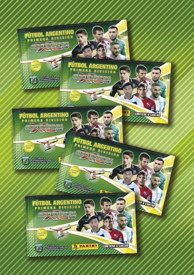 Pack 10 sobres Adrenalyn ADXL Fútbol Argentino