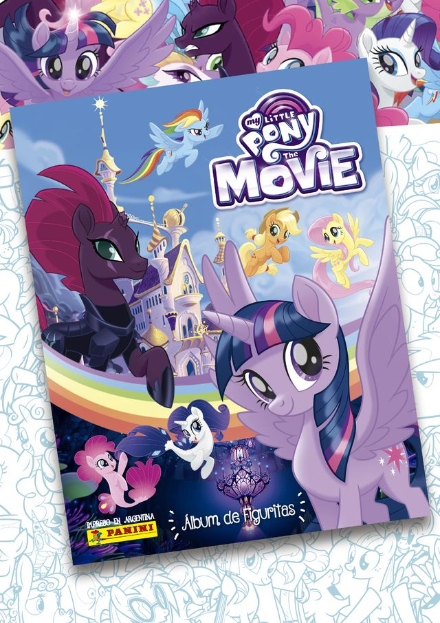 ÁLBUM MY LITTLE PONY, THE MOVIE